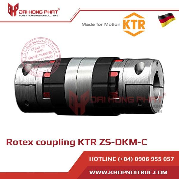 KHỚP NỐI TRỤC KTR ROTEX ZS-DKM-C
