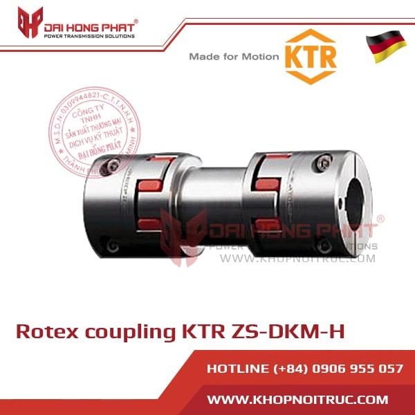 KHỚP NỐI TRỤC KTR ROTEX ZS-DKM-H