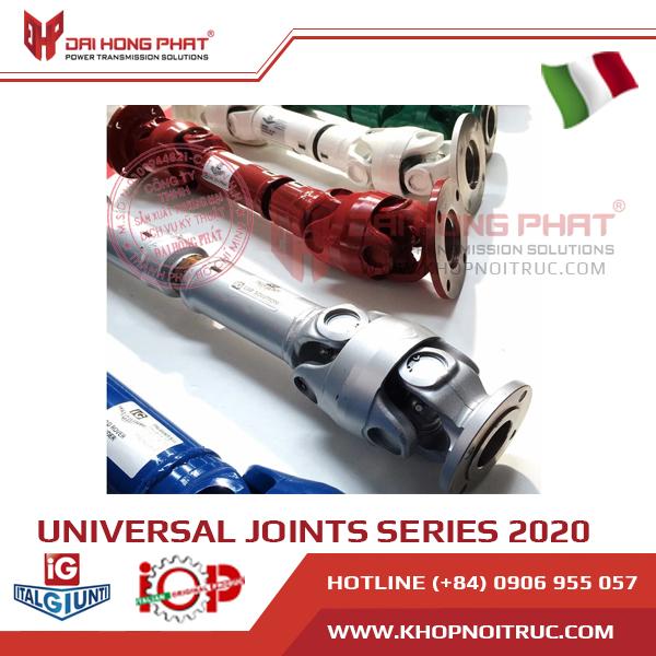 KHỚP NỐI TRỤC CARDAN SIZE 2020 ITALGIUNTI ITALY