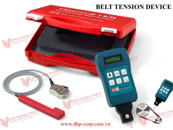 Measure belt tension Trummeter Hilger u. Kern