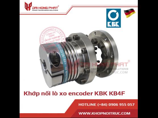 Khớp nối lò xo encoder KBK KB4F