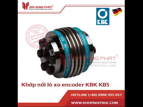 Khớp nối lò xo encoder KBK KB5