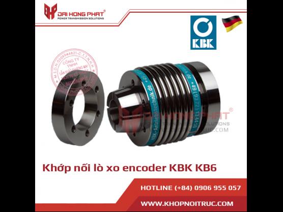 Khớp nối lò xo encoder KBK KB6