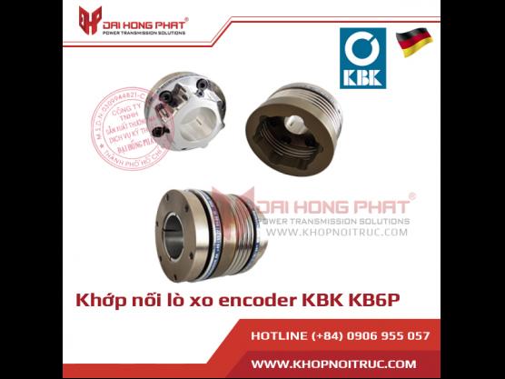 Khớp nối lò xo encoder KBK KB6P