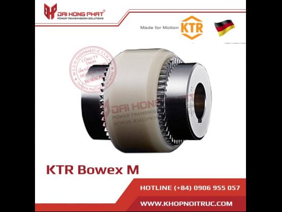 Khớp nối răng vỏ nhựa KTR BoWex M