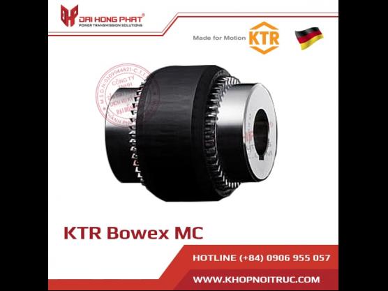 Khớp nối răng vỏ nhựa KTR Bowex  MC