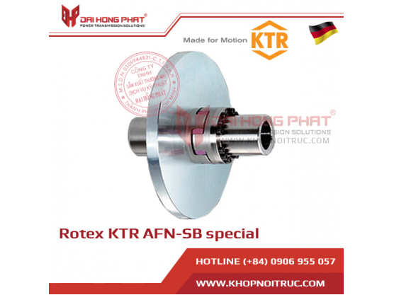 ROTEX AFN-SB special jaw coupling with brake disk