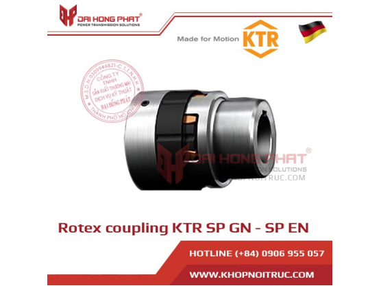 Rotex Coupling KTR SP-GN and Rotex SP-EN