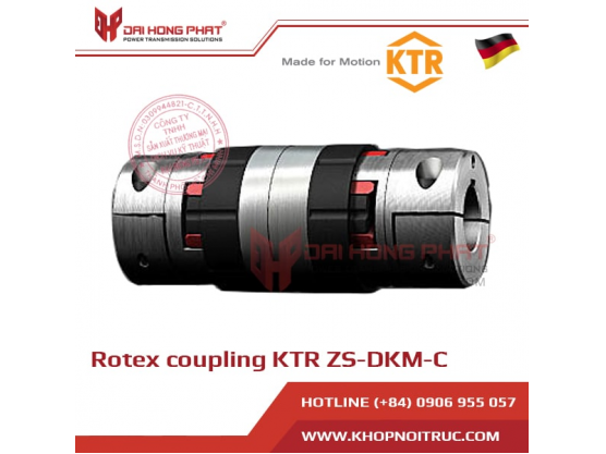 Rotex Coupling KTR ZS-DKM-C