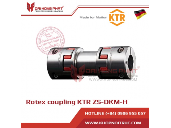 Rotex Coupling KTR ZS-DKM-H