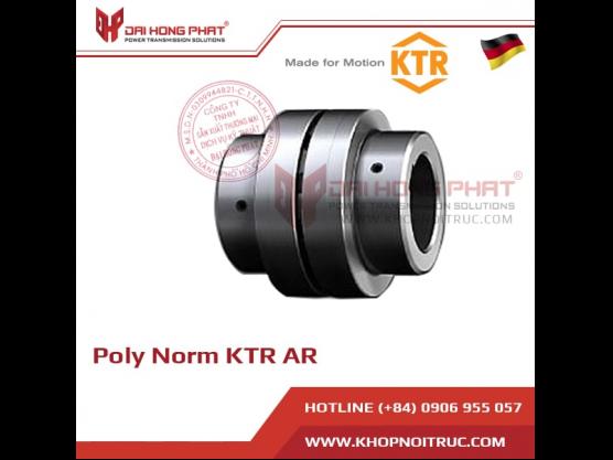 Poly Norm AR torsionally flexible KTR