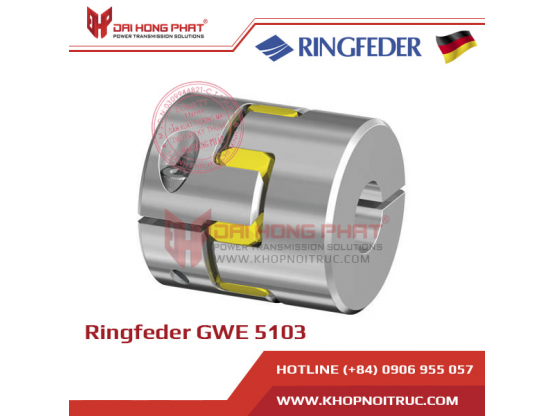 Khớp nối động cơ Servo Ringfeder GWE 5103