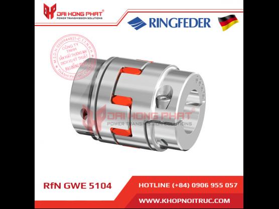 Khớp nối động cơ Servo Ringfeder GWE 5104