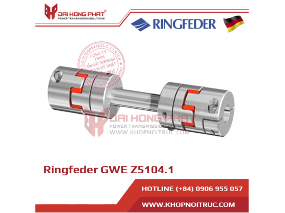 Khớp nối động cơ Servo Ringfeder GWE Z5104.1