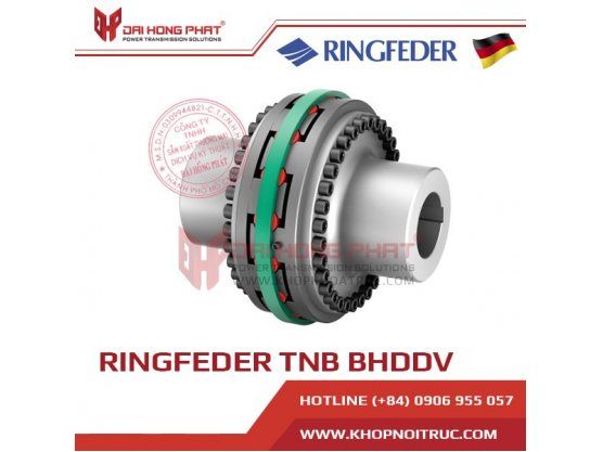 Khớp nối trục Ringfeder TNB BHDDV
