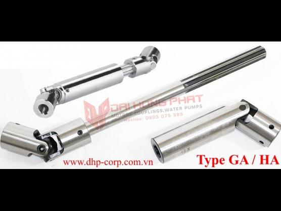 Khớp nối trục Cardan KTR GA-HA (Universal joint couplings)