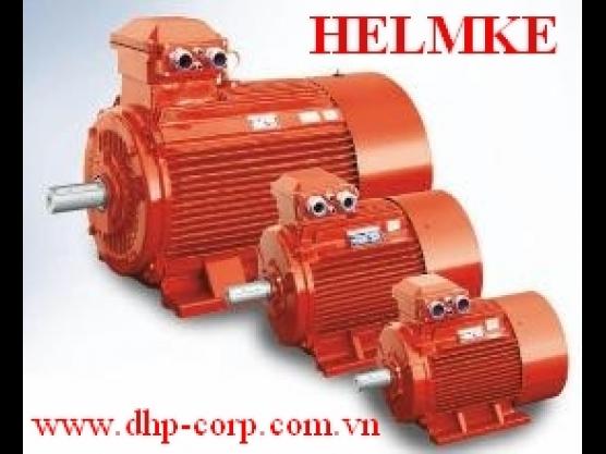 Động cơ điện Helmke 3 pha 2 cực 3000 rpm hiệu suất cao IE3