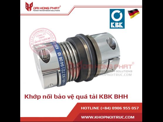 Khớp nối bảo vệ quá tải KBK BHH