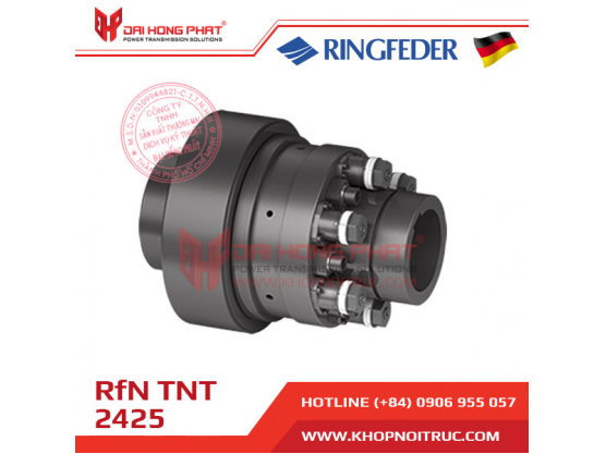 Khớp nối bảo vệ quá tải Ringfeder TNT 2425