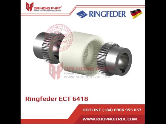 Khớp nối răng vỏ nhựa Ringfeder ECT 6418