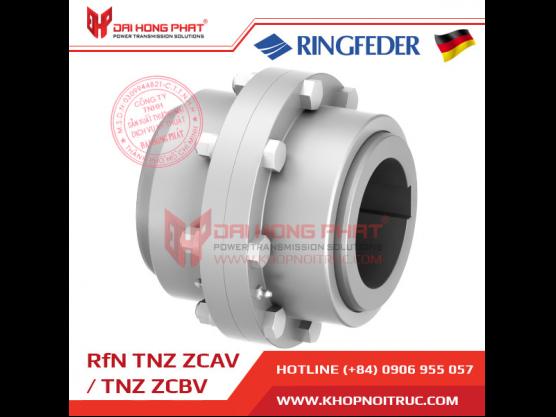 Khớp nối răng Ringfeder TNZ ZCAV / ZCBV