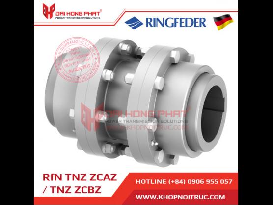 Khớp nối răng Ringfeder TNZ ZCAZ / ZCBZ