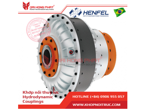 Khớp nối thủy lực HENFEL HLF - Prepare for brake system
