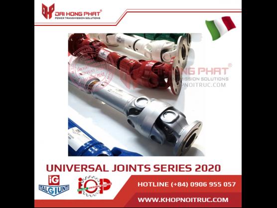 Italgiunti Universal Joint series 2020 Italy