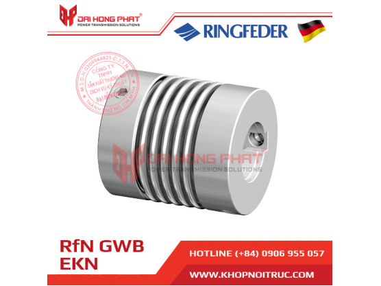 Khớp nối trục Ringfeder GWB EKN dùng cho Encoder