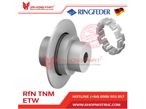 Khớp nối  trục Ringfeder TNM Nor Mex ETW1/ ETW2  (TNM…