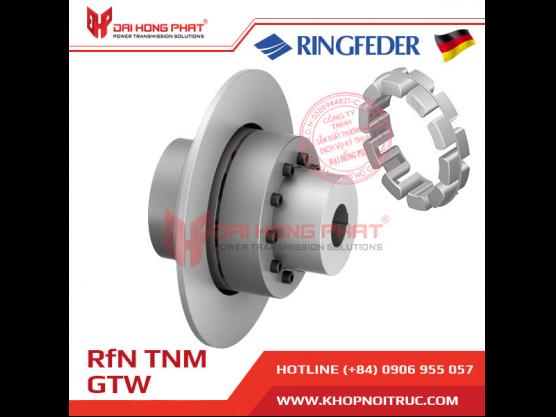 Khớp nối trục Ringfeder TNM Nor Mex  GTW1/GTW2 (TNM GTW1/GTW2)