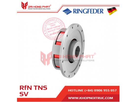 Khớp nối trục Ringfeder TNS SV