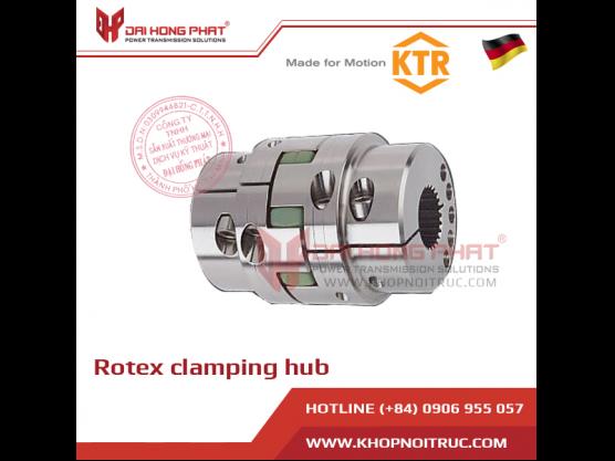 Khớp nối trục KTR Rotex Clamping Hubs