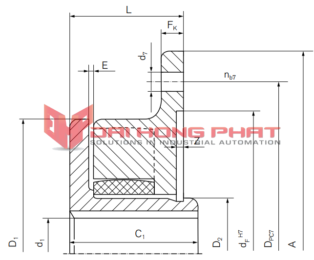 Tschan tns sv with internal hub flexible couplings shaft tschan tns sv with internal hub ccuart Images